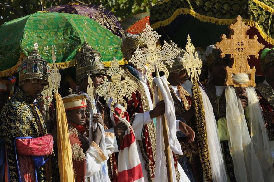Ethiopia, Lalibela,Timkat festival