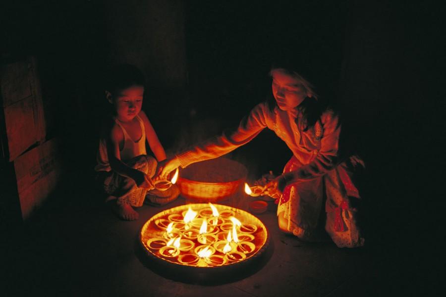 TIHAR FESTIVAL OF LIGHT, KATHMANDU, NEPAL